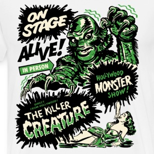 The Killer Creature Hollywood Show T-Shirts - Men's Premium T-Shirt