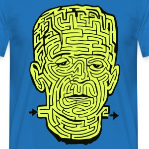 Frankenstein Halloween Maze T-Shirts - Men's T-Shirt