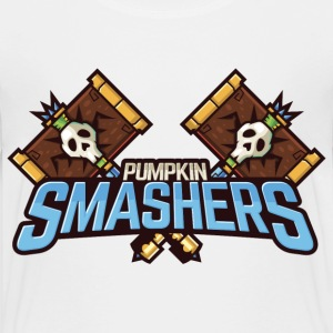 Halloween Pumpkin Smashers Squad Badge Shirts - Kids' Premium T-Shirt