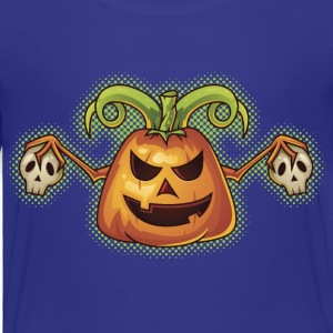Halloween Evil Scary Pumpkin Shirts - Kids' Premium T-Shirt
