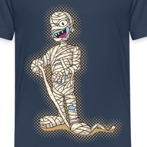 Old Funny Halloween Mummy Shirts - Kids' Premium T-Shirt