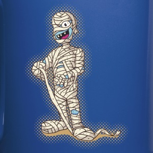 Old Funny Halloween Mummy Mugs & Drinkware - Full Colour Mug