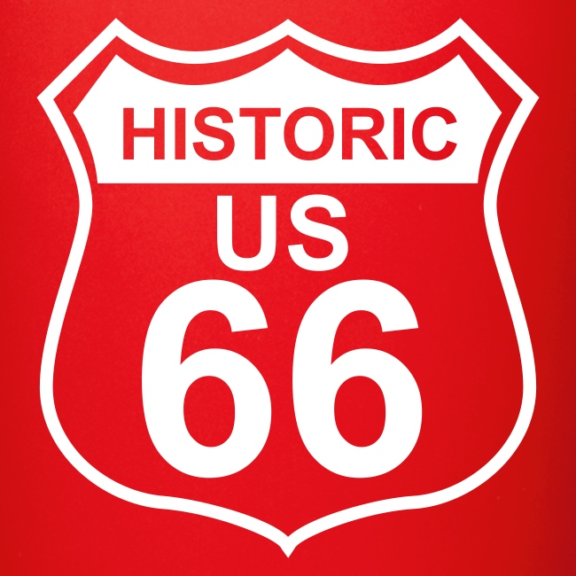 Keramiktasse Historic US 66