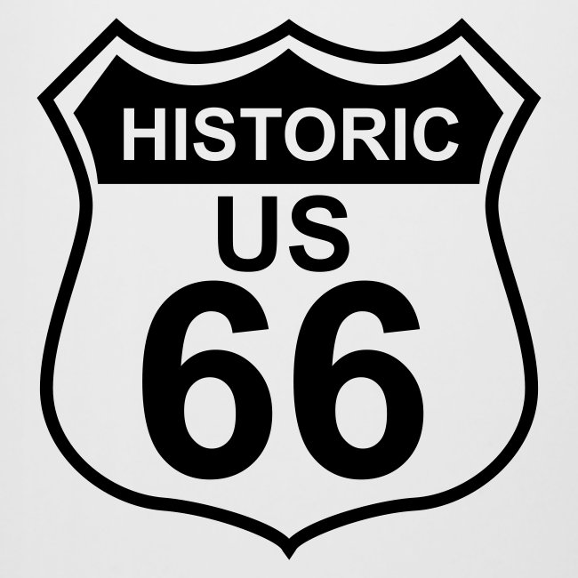 Bierkrug Historic US 66, 0,5 Liter