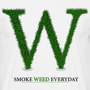 W comme weed Tee shirts - T-shirt Homme