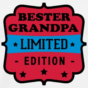 Bester grandpa limited edition T-shirts - Herre premium T-shirt