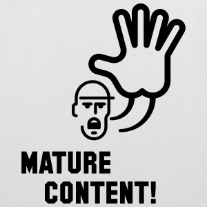 Mature Content! (Warning) Bags & Backpacks - Tote Bag