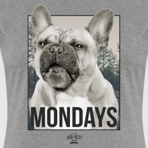 Monday Dog Face T-Shirts - Women's Premium T-Shirt