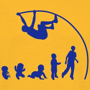 Evolution pole vault perch T-Shirts - Men's T-Shirt