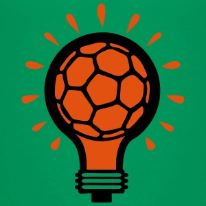 handball ball bulb concept design Shirts - Kids' Premium T-Shirt