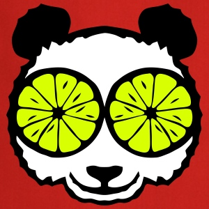 Panda eye lemon drawing  Aprons - Cooking Apron