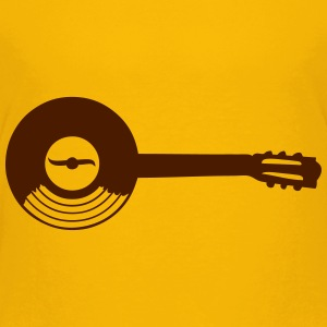 record vinyl LP Guitar music Shirts - Kids' Premium T-Shirt