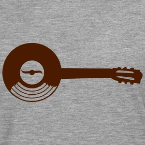 record vinyl LP Guitar music Long sleeve shirts - Men's Premium Longsleeve Shirt