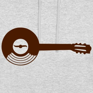 disque 33 tours vinyle guitare 501 Sweat-shirts - Sweat-shirt à capuche unisexe