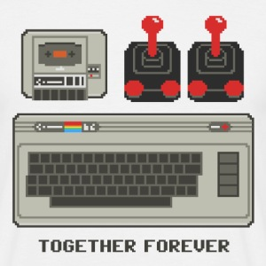 C64 Together Forever - Männer T-Shirt