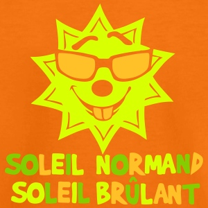 soleil normand brulant citation humour Tee shirts - T-shirt Premium Enfant