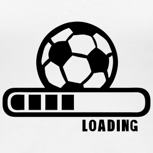 football ballon loading progress bar T-Shirts - Women's Premium T-Shirt