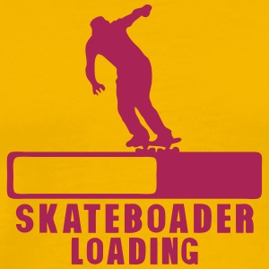 skateboarder loading progress bar 2 T-Shirts - Men's Premium T-Shirt