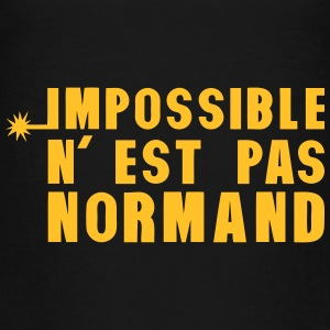 normand impossible nest pas meche Tee shirts - T-shirt Premium Enfant