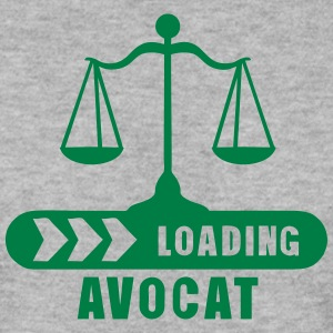 avocat loading barre progression balance Sweat-shirts - Sweat-shirt Homme