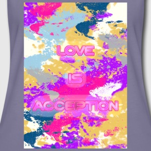 Love is Acception T-shirts - Vrouwen Premium T-shirt
