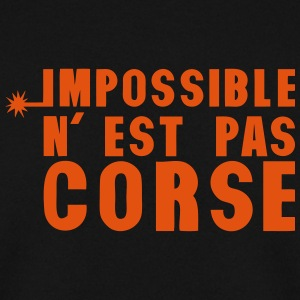 corse impossible nest pas meche Sweat-shirts - Sweat-shirt Homme