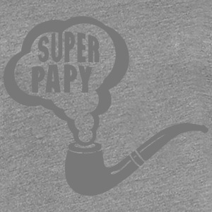 papy super pipe fume 1901 Tee shirts - T-shirt Premium Femme