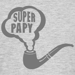 papy super pipe fume 1901 Tee shirts - T-shirt Homme