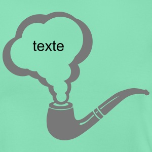 Add text super pipe smoke 1901 T-Shirts - Women's T-Shirt