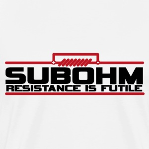 Resistance is Futile T-Shirts - Men's Premium T-Shirt