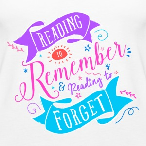 Reading to Tops - Women's Premium Tank Top