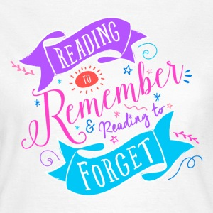 Reading to T-Shirts - Women's T-Shirt