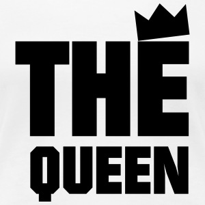 The Queen T-shirts - Dame premium T-shirt