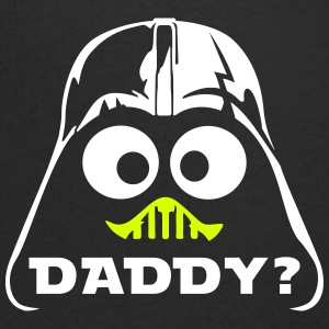 geek darth daddy T-Shirts - Men's V-Neck T-Shirt