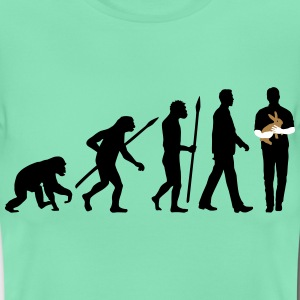 evolution_of_man_kaninchenzuechter01_3c T-Shirts - Frauen T-Shirt