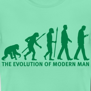 evolution_of_man_smartphone03_1c T-Shirts - Frauen T-Shirt