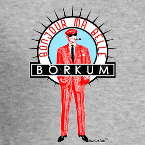 Bonjour ma belle Borkum, Francisco Evans ™ - Männer Slim Fit T-Shirt