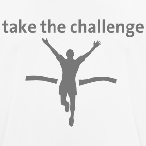 take the challenge - Männer T-Shirt atmungsaktiv