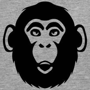 monkey chimpanzee 1 Long sleeve shirts - Men's Premium Longsleeve Shirt
