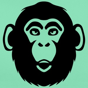 monkey chimpanzee 1 T-Shirts - Women's T-Shirt