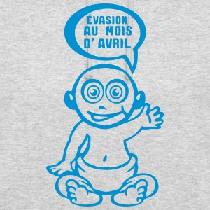 grossesse evasion prevue avril bebe Sweat-shirts - Sweat-shirt à capuche unisexe