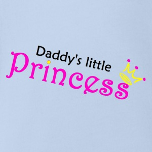 Daddy's little Princess Baby Bodys - Baby Bio-Kurzarm-Body