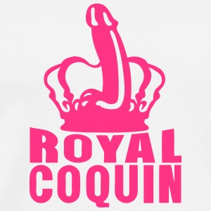 royal coquin couronne godemichet sexe Tee shirts - T-shirt Premium Homme