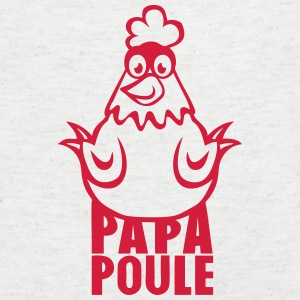 papa poule 14012 Tee shirts - T-shirt Homme col V