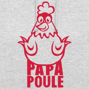 papa poule 14012 Sweat-shirts - Sweat-shirt à capuche unisexe