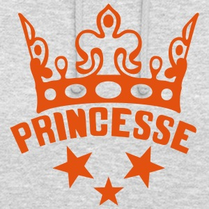 princesse couronne ma logo 1301 Sweat-shirts - Sweat-shirt à capuche unisexe