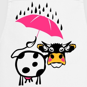 Cow drawing umbrella 1301  Aprons - Cooking Apron