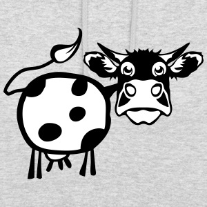 cow drawing 1301 Hoodies & Sweatshirts - Unisex Hoodie