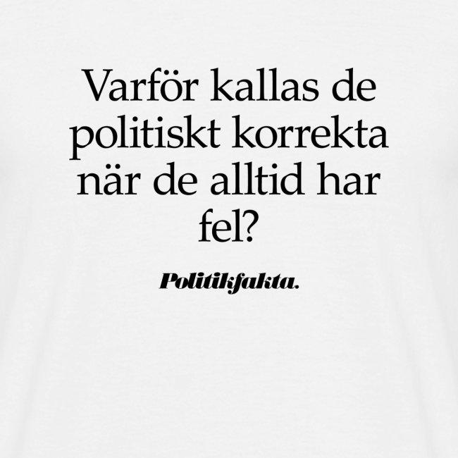 Politiskt korrekta fel...