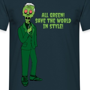All Green T-Shirts - Männer T-Shirt